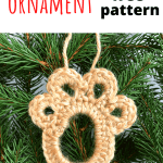 paw print ornament pinterest image