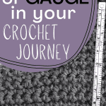 crochet gauge pin