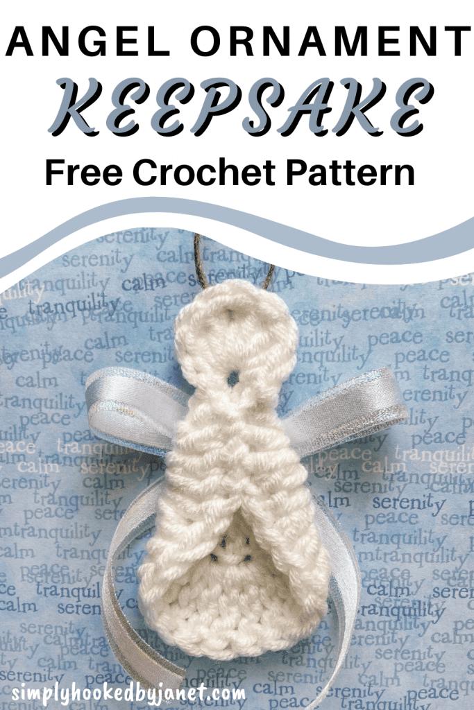 crochet angel ornament pattern