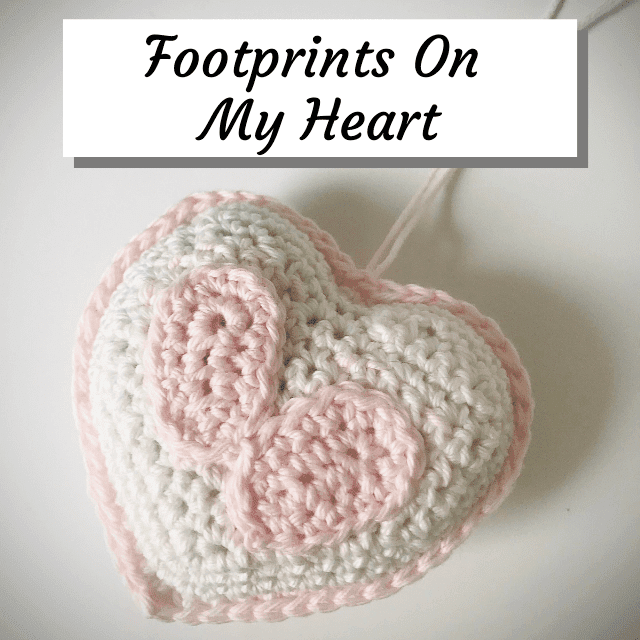 infant loss crochet keepsake