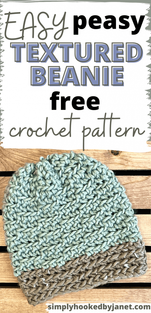 crochet hat pin image