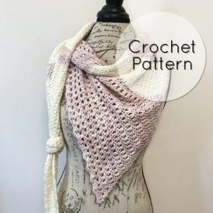 lace crochet shawl