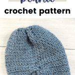 crochet hat beanie pin image