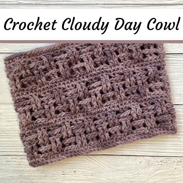 crochet neckwarmer cowl