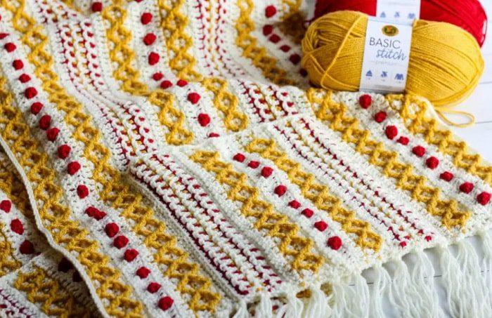 colorful pocket shawl